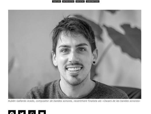 Entrevista en Setmanari Felanitx
