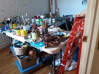 organizing creative spaces