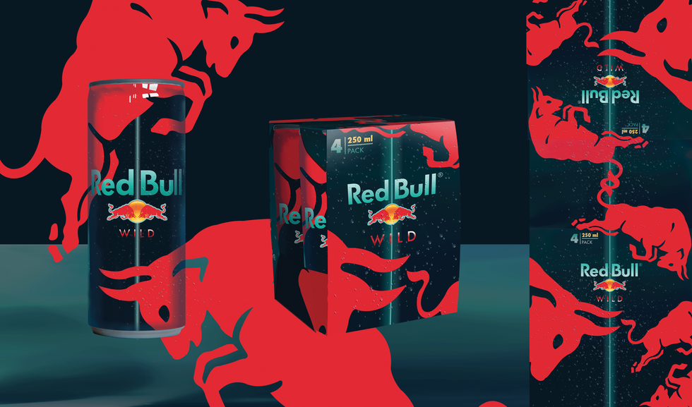Packaging REDBULL