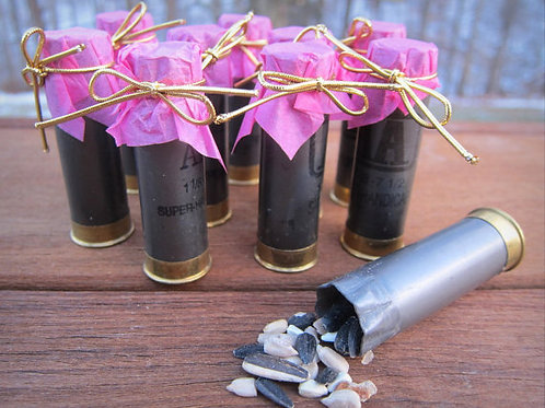 Shotgun Shell Pack of 10 Bird Seed/Confetti