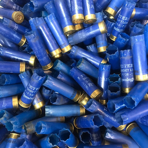 Once-Fired Blue Remington 12 Gauge (30 Hulls) - Free Shipping