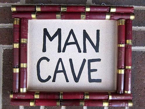 Shotgun Shell Man Cave Sign