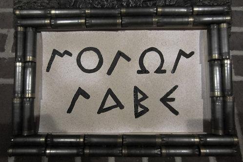 Shotgun Shell Molon Labe Come and Take Sign