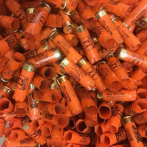 Once-Fired Orange RST 12 Gauge (30 Hulls) - Free Shipping