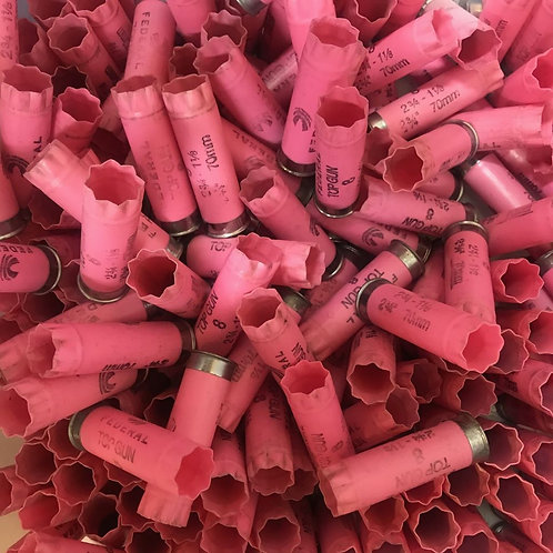 Once-Fired Pink Federal 12 Gauge (30 Hulls) - Free Shipping
