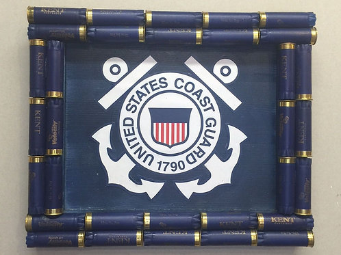 Shotgun Shell Coast Guard Wall Decor