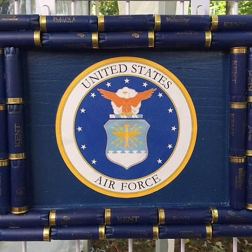 Shotgun Shell Air Force Wall Decor