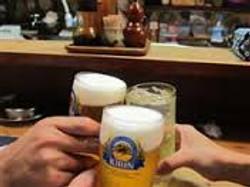 まずは乾杯~!