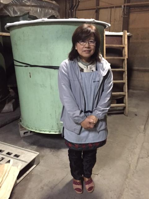 蔵元さん訪問。 清水酒造さん。