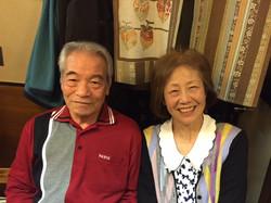 父の同級生、ノリさんとヨシコさん。