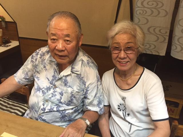 鳥政の裏番、上野さんと女将の姉、豊子姉さん。