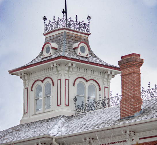 Belvedere atop the Mansion.