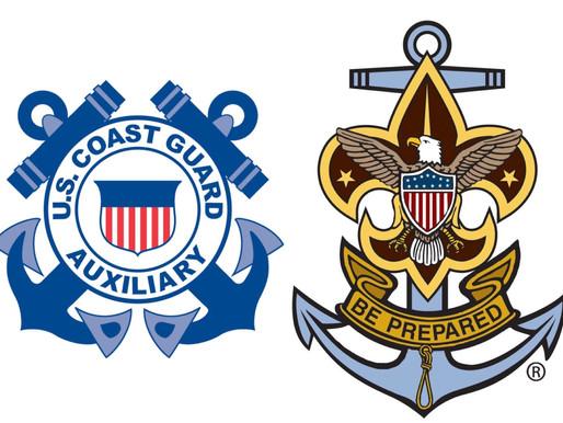 U.S Coast Guard Auxiliary and Sea Scouts