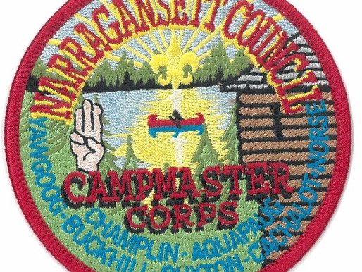 Campmaster Training March 14