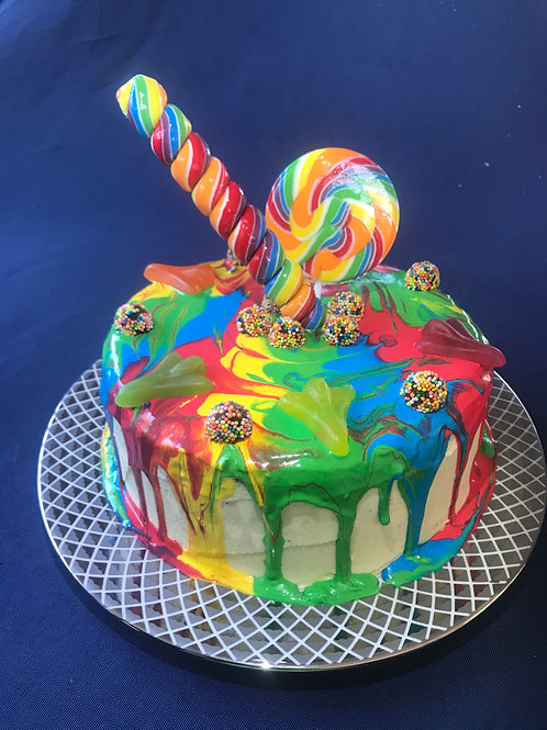 CandyCoat cake