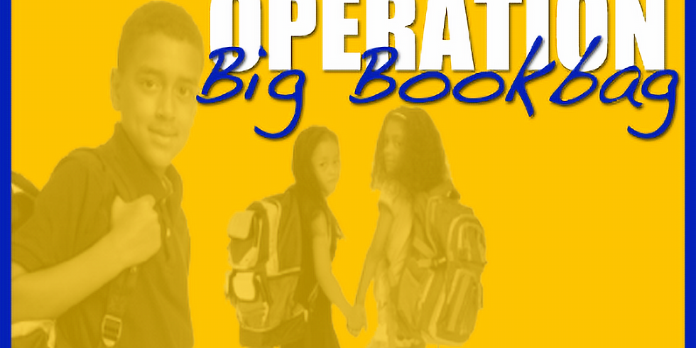 Operation Big Book Bag Donation Presentation