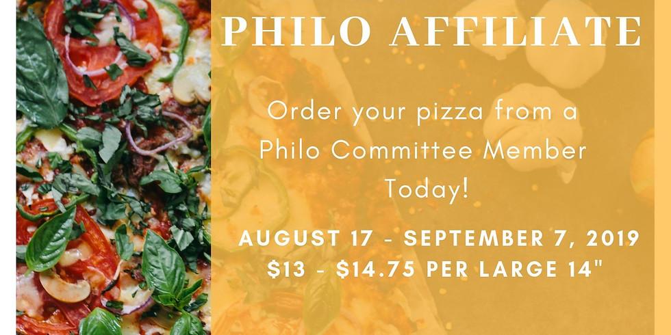 Pre-Sale Pizza Fundraiser