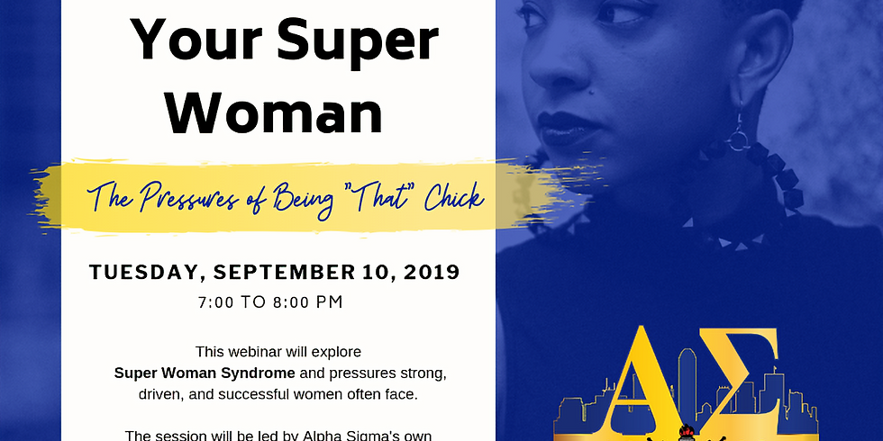 I am Not Your Super Woman