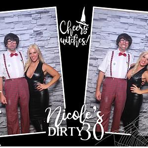 Nicole's Dirty 30 Halloween Bash