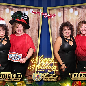 Chrysler Telegraph, Southfield Chrysler, Cadillac of Novi Christmas Party