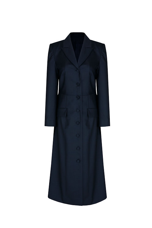 21SS W-LONG JACKET DRESS
