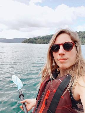 Kayakken bij The Marlborough Sounds, Hopwell Lodge, Nieuw Zeeland