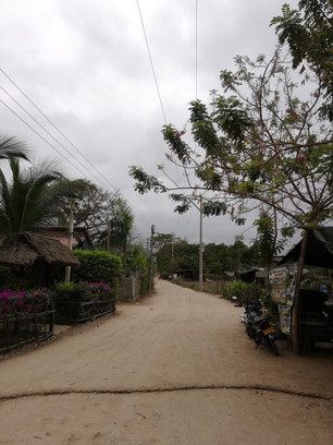 De zanderige hoofdstraat