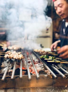 Hiroshima, Japanse Yakitori BBQ