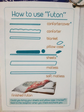 How to use futon bed...
