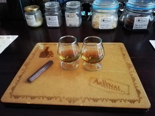 El arsenal: The Rum Box