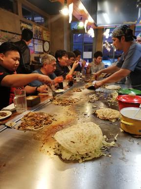 Het gerecht van Hiroshima: Okonomiyaki