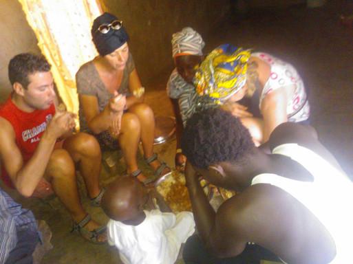 koken in Gambia