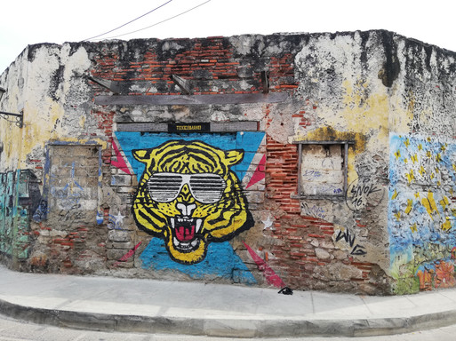 Graffiti art in Cartagena