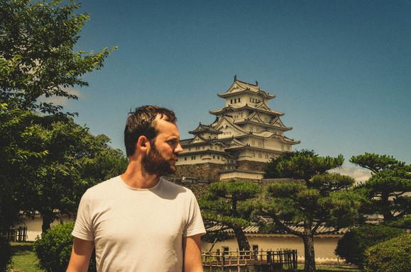 Eddy in Japan, Castle of Himeji