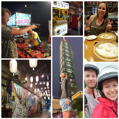Onze reis door Taiwan