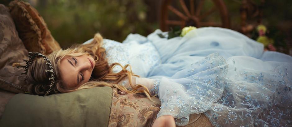 Sleeping Beauty [a Storybook Dream Shoot]