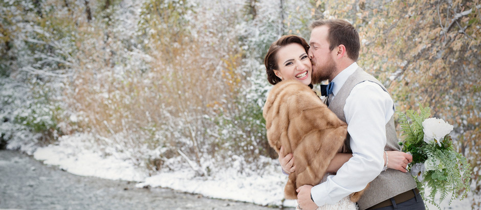 Andi & Caleb {Black Hills Wedding}