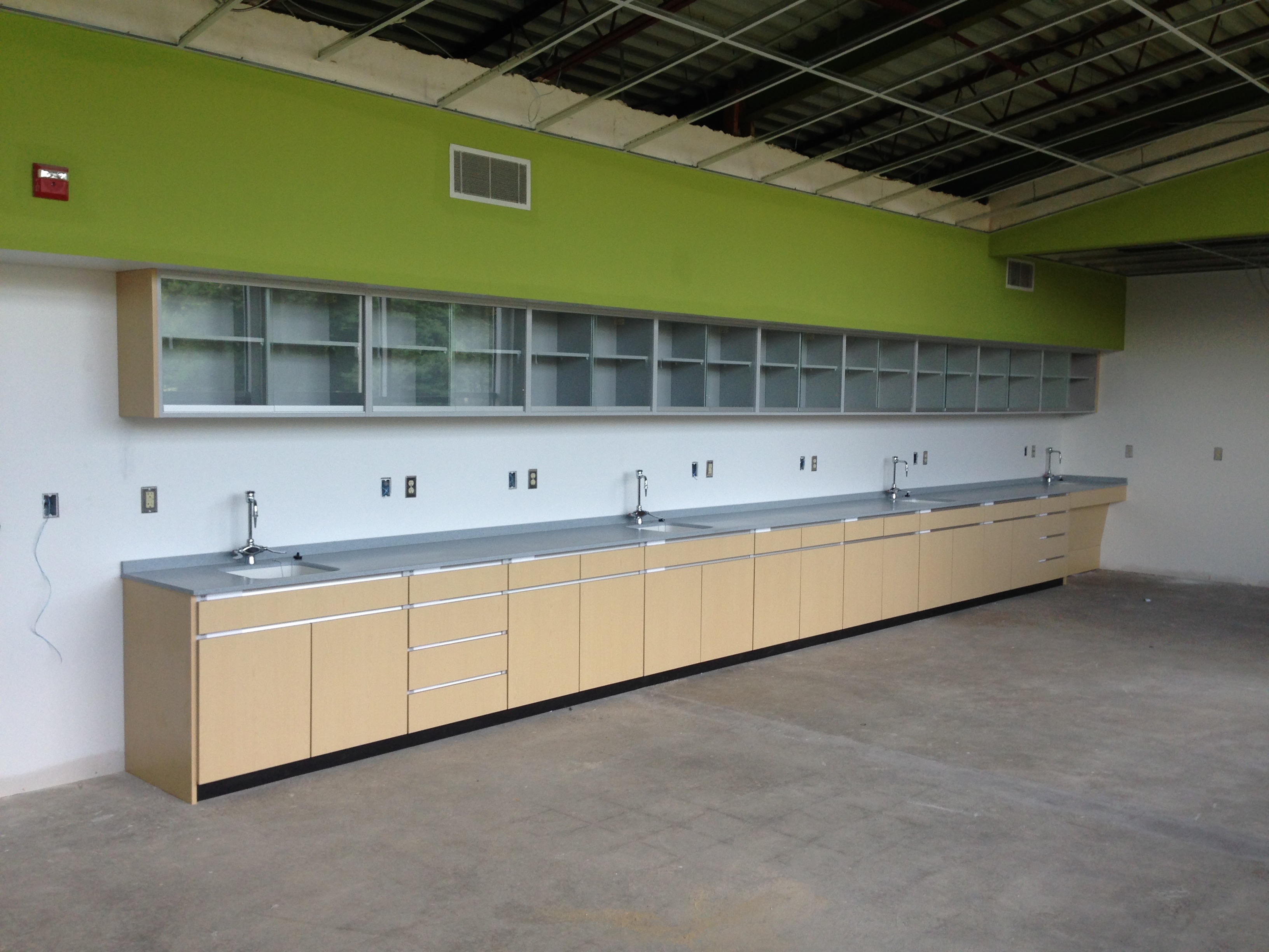 School Lab Cabinetry