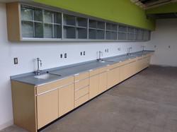 Commercial Lab Built-Ins