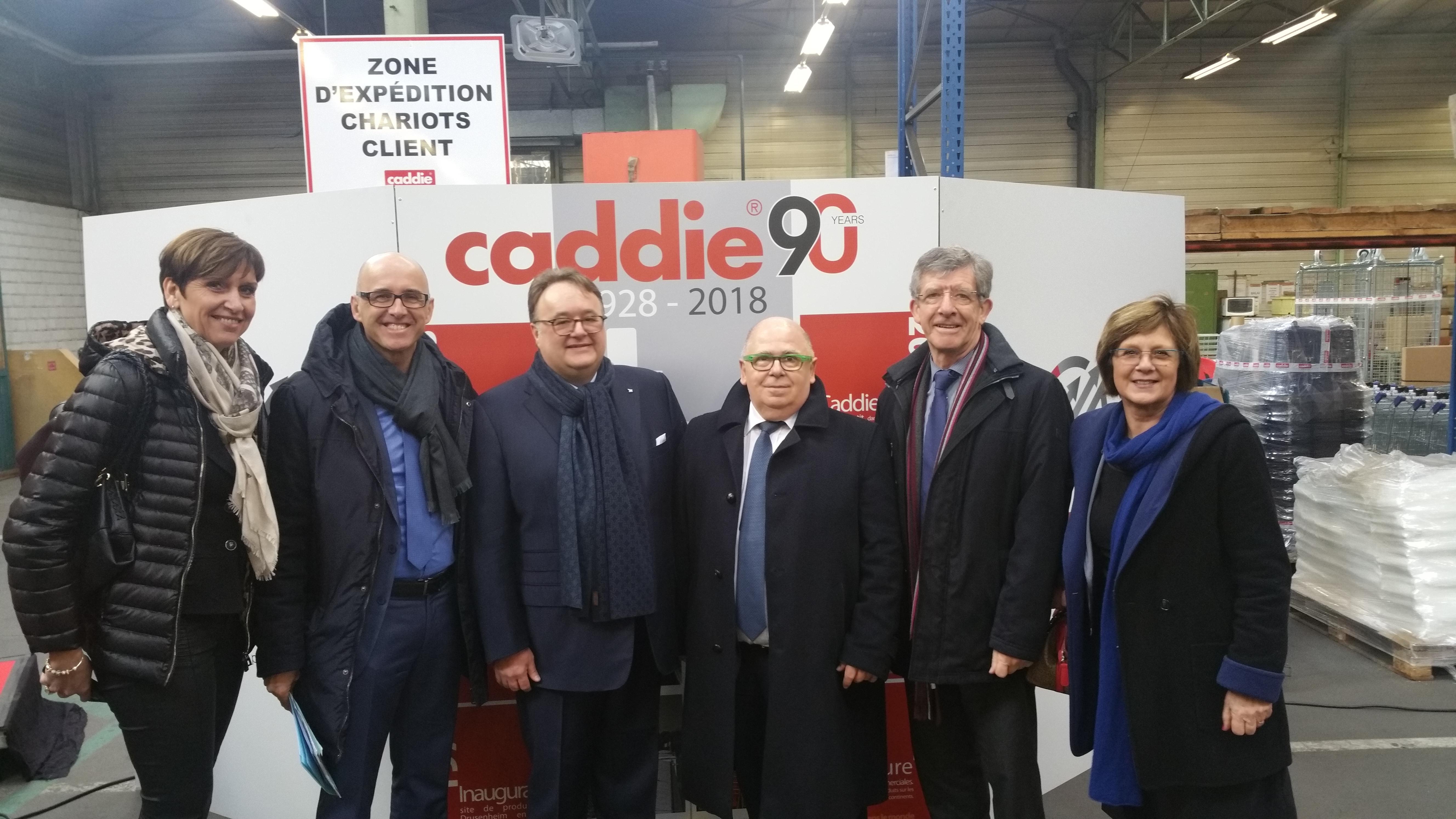 Visite chez Caddie