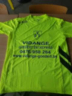 sponsoring maillot football