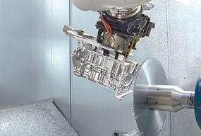 celda robotizada disco corte fundicion