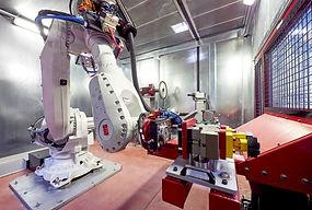 celda robotica acabado automatizado