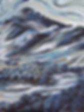 Aran mountain, Yr Aran , Llanuwchllyn, Y Bala, Bala artist, local artist, affordable paintings