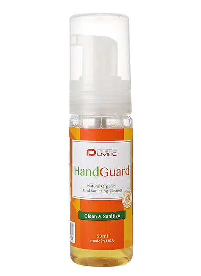 HandGuard Natural Organic Hand Sanitizing Cleaner