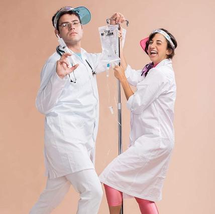 """ד""""ר ברקו והאחות יעלי משתובבים בצילומי יח""""צ"""