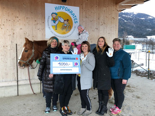 Spendenübergabe vom Ladies Circle Spittal