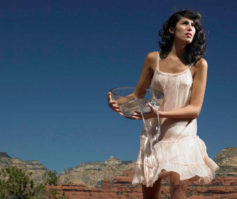 Water is a big part of fashion production - fibers, dyes, treatments, and post-consumption cleaning