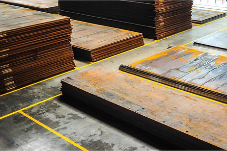Steel flat products