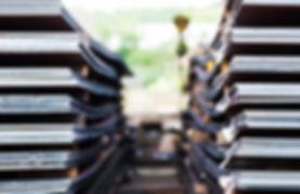 Steel plates storage